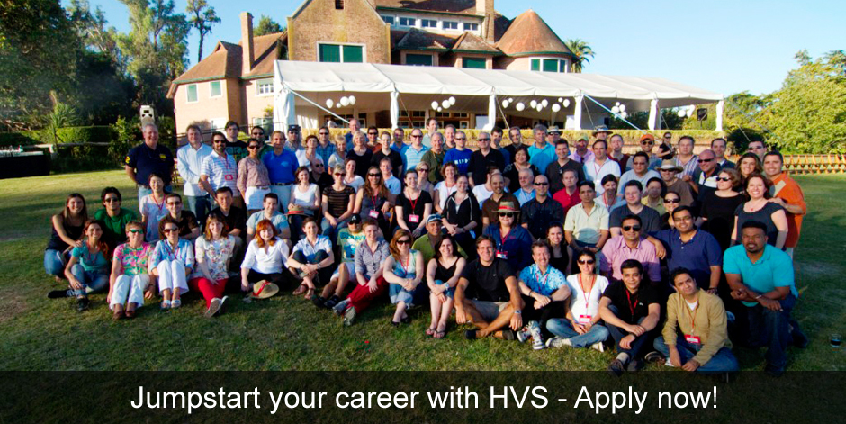 Jumpstart your career with HVS - Apply now!